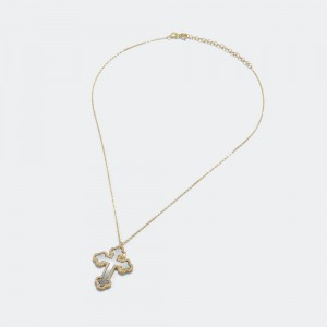 Ivory Cross Necklace