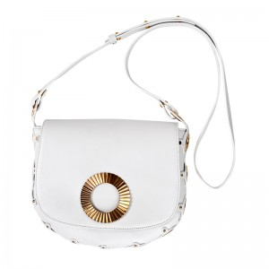 """KLEONIKI"" CROSS BODY BAG WHITE"