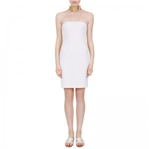 KASSANDRA SHORT DRESS WHITE
