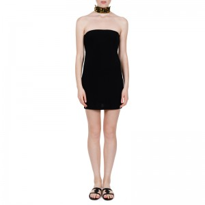 KASSANDRA SHORT DRESS BLACK