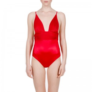LA PERLA - BEACH NERVURES / CORAL RED